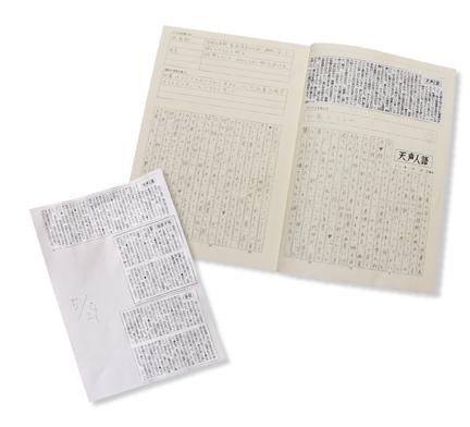 新聞コラム、新聞ノート